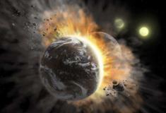 Telescópio capta choque de planetas a mais de 300 anos-luz da Terra