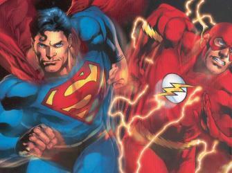 DC revela quem é mais rápido: Superman ou Flash