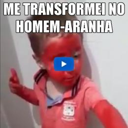 Como se transformar no Homem-Aranha