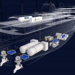 Havyard desenvolve células de combustível de hidrogénio para navios de grande porte