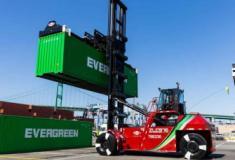 Porto de Los Angeles testa Top Handlers eletricos