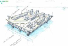 ABB apresenta estação flutuante de abastecimento de combustível limpo