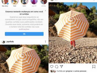 Instagram começa a testar remoção da contagem de curtidas nos EUA