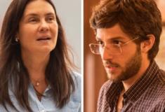 Adriana Esteves: Depois de amante, ela vive mãe muito zelosa de Chay Suede