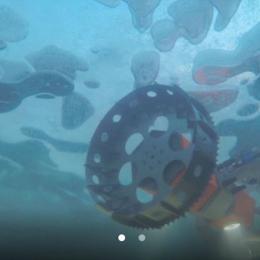 NASA testa robot submarino para caça a alienígenas