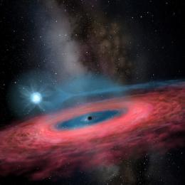 Buraco negro perto da Via Láctea é mais de duas vezes maior que o previsto