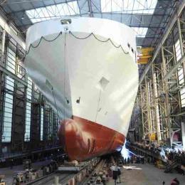 Video do lançamento do cargo ferry