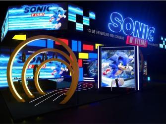 Paramount Pictures leva universo do Sonic para a CCXP