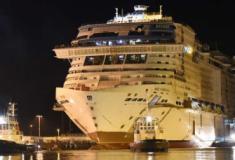 Chantiers de l'Atalantique lançaram o MSC Virtuosa