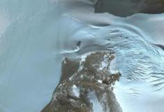Objeto semelhante a OVNI descoberto na Antartida