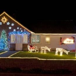 Dez decorações exteriores para o Natal