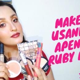 Maquiagem usando apenas Ruby Rose