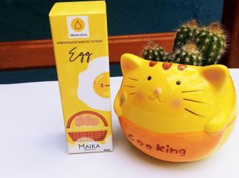 Resenha:  Sérum facial egg - Maika Beauty