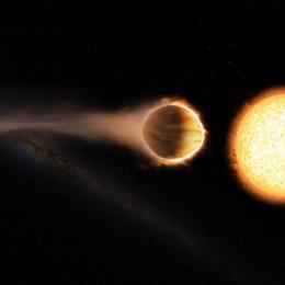 Cientistas encontram exoplaneta se dirigindo para a própria 'morte'