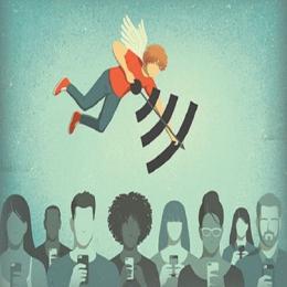 10 ilustrações que retratam as contradições da vida moderna
