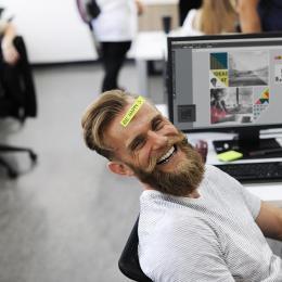 Como ser feliz no trabalho