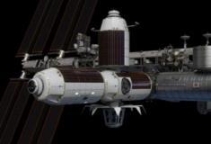 A Estação Espacial Internacional terá um quarto de hotel para turistas