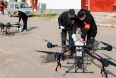 China usa drones para combater o coronavírus