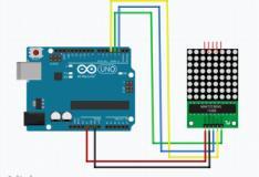Exibindo textos em um módulo matriz de leds MAX7219 com Arduino
