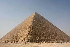 A Grande Pirâmide de Gizé pode ter tido uma outra finalidade