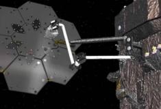 A NASA planeia construir naves espaciais no espaço