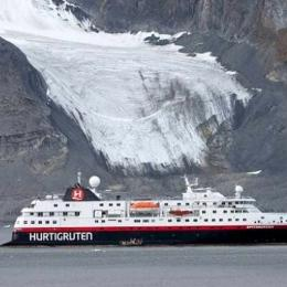 Cruzeiro da Hurtigruten transmitido em direto