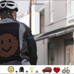 Ford cria jaqueta emoji para ciclistas