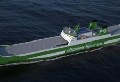 Os três novos navios da Finnlines vão utilizar os sistemas híbridos Wärtsilä