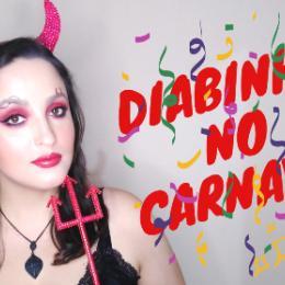 Make de Carnaval: Diabinha