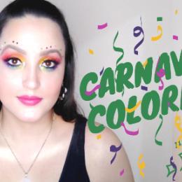 Make de Carnaval: Arco íris