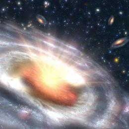 Quasares, os devoradores do cosmos