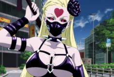 Cosplay perfeito da personagem Supersádica de OPM