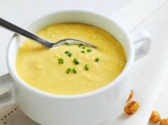 Creme de milho sem lactose (Receita fácil)