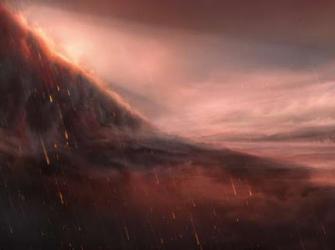 Telescópio observa planeta estranho onde chove ferro