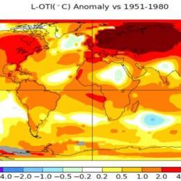 Rússia teve o inverno mais quente em 130 anos