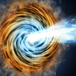 Astrônomos encontram blazar mais distante já observado
