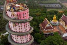 Conheça o Templo do Dragão na Tailândia