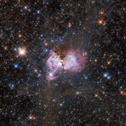 Hubble mostra um fantástico laboratório estelar