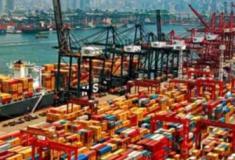 Movimentação de contentores normalizada na China