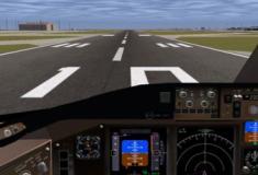 Simuladores de voo para PC fraco