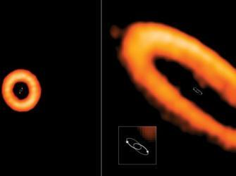Discos planetários ao redor de estrelas binárias têm órbitas estranhas
