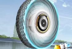 Gooyear criou um pneu auto regenerável que usa IA