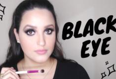 Como fazer olho preto esfumado (black eye) - Iniciantes