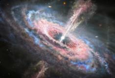 Astrônomos descobrem 'tsunamis' causados por quasares no universo
