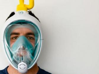 Empresa transforma máscara de mergulho em ventilador por impressão 3D