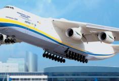 O Antonov AN-225, maior avião do mundo volta a voar