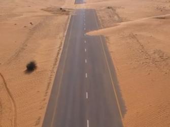 As estradas desertas e o distanciamento social