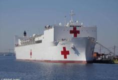 O navio hospital