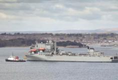 """Reino Unido envia navio auxiliar """"hospital"""" para o Caribe em resposta ao COVID-19"""