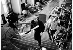 Por trás das câmeras dos grandes clássicos do cinema em fotografias raras
